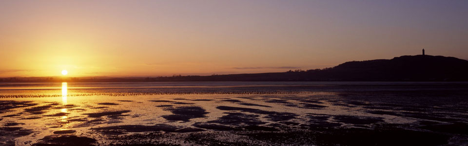 Sunset over Strangford Lough, Newtownards
